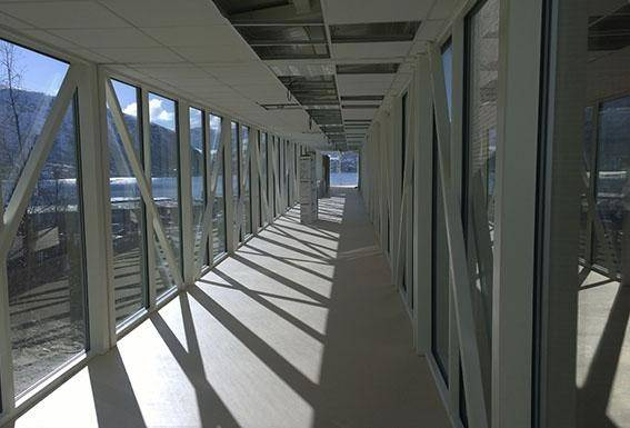 UNN Tromsö dubbel fasader Corrotech