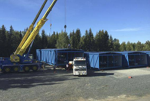 Transportörer stålkonstruktioner Corrotech Oy Ab