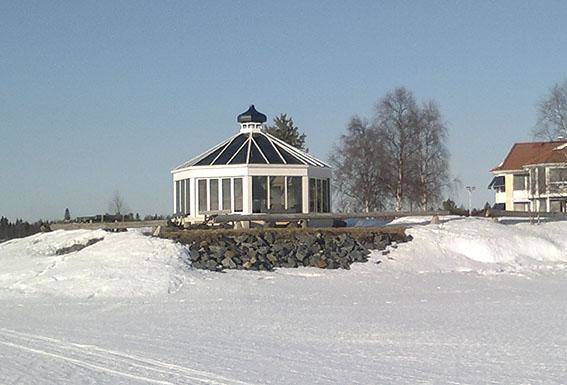 Glasgrillkåta Torneå dubberl fasader Corrotech
