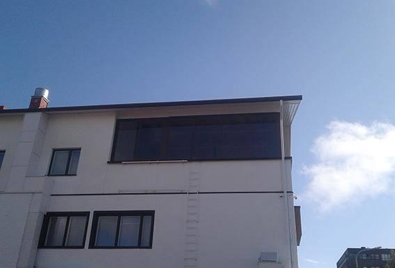 Mustaparta Tonreå fönster och fasadsystem i aluminium corrotech