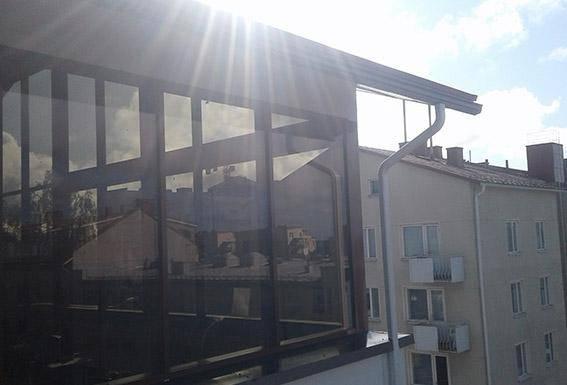 Ravintola Mustaparta Torniossa, Corrotechin alumiinirakenteet